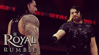 getlinkyoutube.com-Royal Rumble: The Shield Reunite & Triple Powerbomb HHH Out Of The Rumble!!!