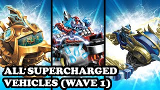 getlinkyoutube.com-Skylanders Superchargers - All Wave 1 Supercharged Vehicles GAMEPLAY