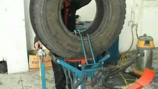 getlinkyoutube.com-Восстановление грузовых шин-Китай Шанхай