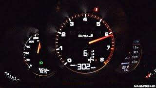 2016 Porsche 991 Turbo S MK2 Launch Control 0-302km/h Acceleration