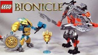 getlinkyoutube.com-레고 바이오니클 마스크메이커 vs 스컬그라인더 70795 조립 리뷰 LEGO Bionicle Mask Maker vs Skull Grinder Kulta