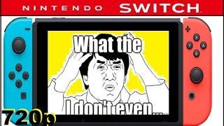 getlinkyoutube.com-The Weakest Console Since Ever? Nintendo Switch Specs 720p 32GB of storage.Nintendo, Epic Fail