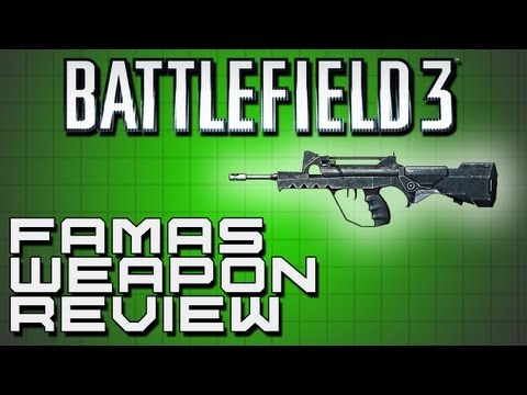 Battlefield 3 Weapon Review - FAMAS