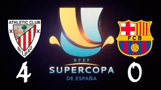 getlinkyoutube.com-Athletic Bilbao 4 vs F.C.Barcelona 0 - Supercopa de España 2015