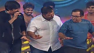 getlinkyoutube.com-Ravi Teja, Brahmanandam, Hansika & Funny Dance Performance @ Power Movie Audio Launch
