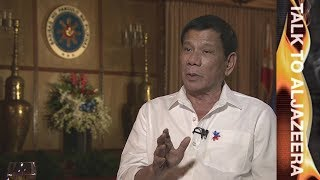 Rodrigo Duterte on US relations: 'No more military exercises' - Talk to Al Jazeera