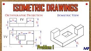 Isometric Views Problem 1