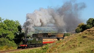 getlinkyoutube.com-North Yorkshire Moors Railway - Autumn Steam Gala 2014