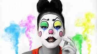 getlinkyoutube.com-CLOWN MAKEUP TUTORIAL