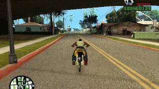 GTA San Andreas   ลอง เวฟ 125 [ขำๆ]