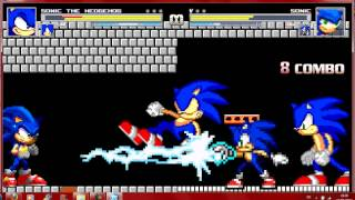 getlinkyoutube.com-Mugen Sonic Battle 1