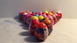 getlinkyoutube.com-30 Surprise Eggs!! Disney Cars, Planes, Spiderman, Spongebob,OneDirection, Angry Birds,oeuf surprise