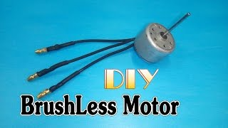 getlinkyoutube.com-How to make Brushless Motor from motor DVD, VCD player