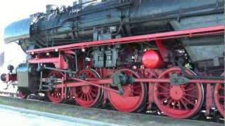 getlinkyoutube.com-Steamtrain (s) in the Netherlands and Germany. Spectaculaire smoke and steam chasing.
