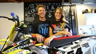 getlinkyoutube.com-At home with Lance and Courtney - TransWorld Motocross