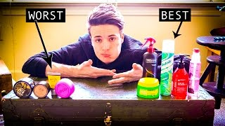 getlinkyoutube.com-Mens Hairstyling into 2017 | BEST and WORST Hair Products