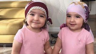 seru anak kembar lucu abis asiya dan safiya #1