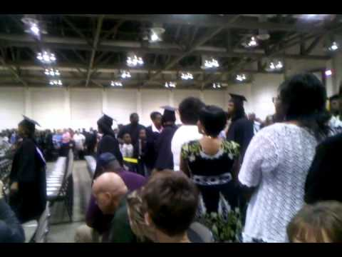 My baby graduating from Southern University