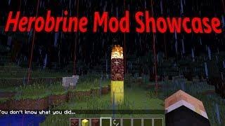 "getlinkyoutube.com-Minecraft รีวิวมอด:Herobrine Mod น่ากลัวนะ ประมาณนั้น - -"" (Mod Showcase)"