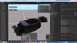 getlinkyoutube.com-Unity 3D Dynamic Car Damage Testing