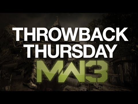 Hey There, MW3 - FFA Sniping Commentary - Throwback Thursday!