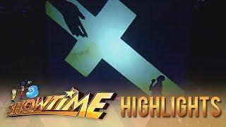 It's Showtime Lenten Special: El Gamma Penumbra opens the show with a heartfelt performance