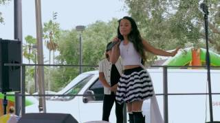 getlinkyoutube.com-12 Year Old Youtube Star Angelic Performs In Concert