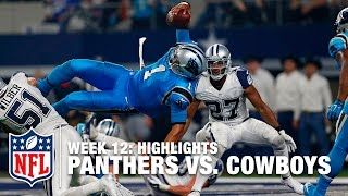 getlinkyoutube.com-Panthers vs. Cowboys | Week 12 Highlights | NFL