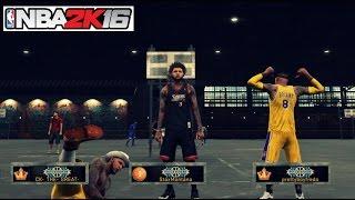 NBA 2K16| Prettyboyfredo + StaxMontana MyPark BALLIN !! Cant be stopped!!