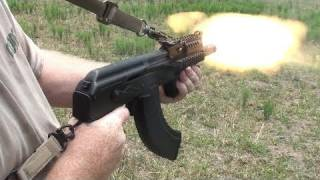 getlinkyoutube.com-Mini Draco AK47 Pistol: Ultimate Truck Gun