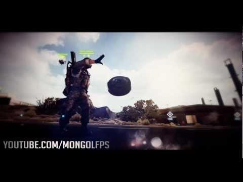 Battlefield 3 EPIC 2,000 Mines Zig-Zag Explosion