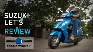 getlinkyoutube.com-Suzuki Let's : ChooseMyBike.in Review