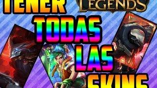 getlinkyoutube.com-Como tener TODAS las skins GRATIS de League Of Legends 2017!!!