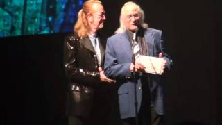 Roger Earl and Gary Anton present Blues Music Awards to Buddy Guy and Tom Hambridge.mp4