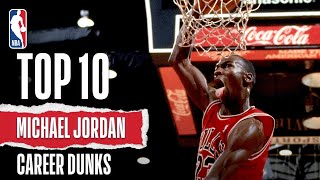 getlinkyoutube.com-Michael Jordan's Top Career Dunks