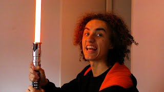 getlinkyoutube.com-REAL LIFE LIGHTSABER! (Q&A Kwebbelkop)