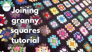 getlinkyoutube.com-Crochet Joining Granny Squares Tutorial