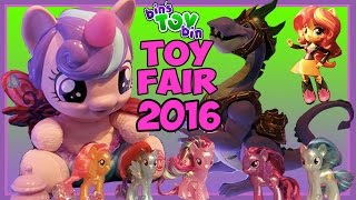 getlinkyoutube.com-My Little Pony Hasbro Toy Fair 2016 Visit - Guardians of Harmony, Flurry Heart & More! | BinsToyBin