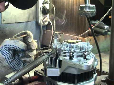 Ремонт генератора Hyundai 4
