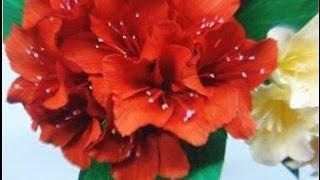 getlinkyoutube.com-Paper Flowers - Rhododendron (Flower # 44)