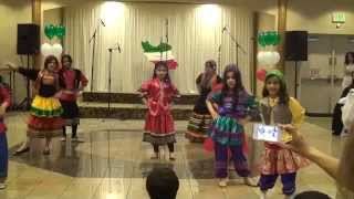 A Choriographed Persian Dance Performed by the Children at the Nowruz Event, March 2014