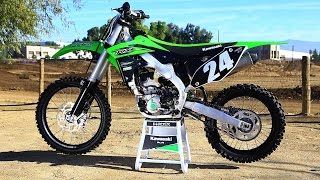 getlinkyoutube.com-First Ride 2016 Kawasaki KX 250F - Motocross Action Magazine