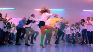 getlinkyoutube.com-Beyonce - Let's Move! 'Move Your Body' Music Video Official 2011