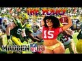 Madden 13 - Patrick Willis Wrecking Crew The Policy! Madden - Online Ranked Match - PACKERS vs 49ers