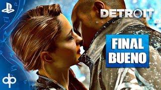 DETROIT BECOME HUMAN - FINAL BUENO | Final Romance TODOS VIVOS (Markus, Connor, Kara) | Español