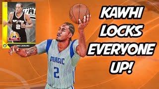 NBA 2K16 MyTeam - Kawhi Delivers Kawhighlights! LOCKDOWN DEFENSE! Full Game Friday - JV Squad