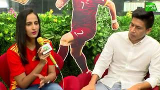 Football WC2018 | Ronaldo, Iniesta, Suárez in action tonight | Renedy Singh | Sports Tak