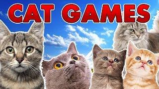 getlinkyoutube.com-A Bunch of Cat Games