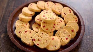 getlinkyoutube.com-Tutti Frutti Biscuits Recipe | Easy Tea Time Snack Recipe | Beat Batter Bake With Upasana
