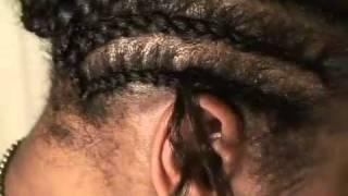 getlinkyoutube.com-EllyBees Hair - How To Do Crochet Braiding - Freetress Bulk Deep Twist